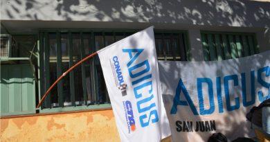 """""""Multisectorial Contra la Reforma Laboral y Previsional"""" de San Juan"""