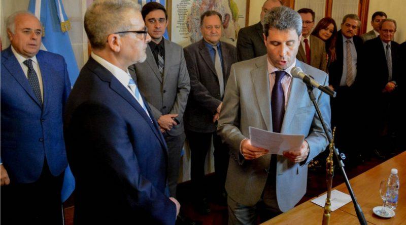 Asumió el Asesor Letrado de Gobierno Dr. Carlos Lorenzo