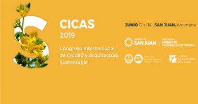 I Congreso Internacional de Ciudad y Arquitectura Sustentable – CICAS 2019