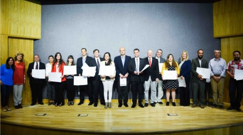 Investigadores de la UCCuyo fueron reconocidos por el Senado de Mendoza