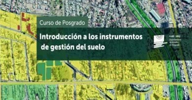 """Curso de Posgrado """"Introducción a los instrumentos de gestión de suelos"""""""