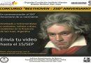 Concurso «Beethoven – 250° Aniversario»