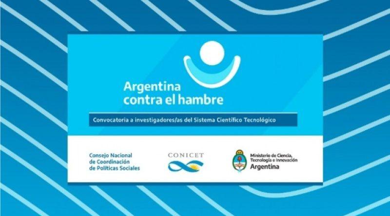 Convocatoria «Aportes científicos y tecnológicos» en el marco de Argentina contra el Hambre