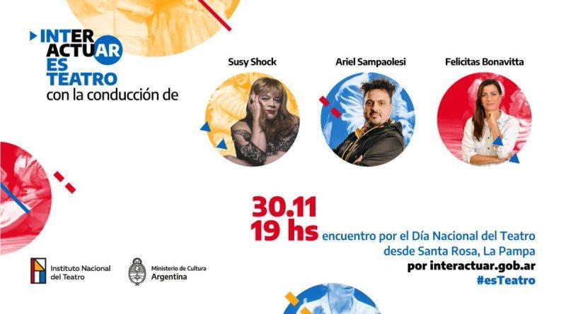 Día Nacional del Teatro «Interactuar es Teatro»