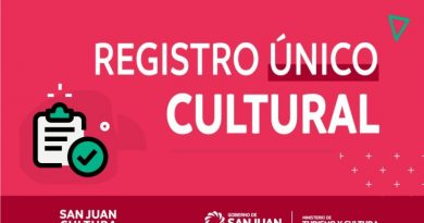 Registro único de Cultura de San Juan
