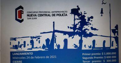 Concurso provincial de anteproyecto para la nueva Central de Policía de San Juan