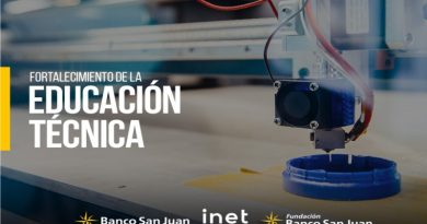 Banco San Juan patrocina proyectos vinculados a Educación Técnica, Empleo y Desarrollo Tecnológico