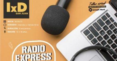 Taller virtual gratuito «Radio Express»