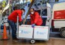 San Juan recibió 15.500 vacunas contra el COVID-19