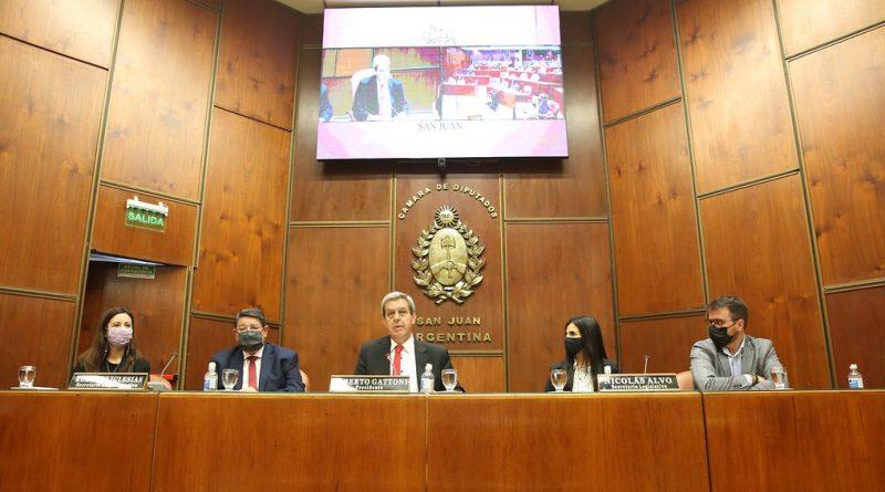 Se desarrolló el Parlamento Juvenil del Mercosur en la Cámara de Diputados de San Juan