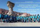 El Coro de Niños y Jóvenes de la UNSJ ganó en la categoría «Centenario»