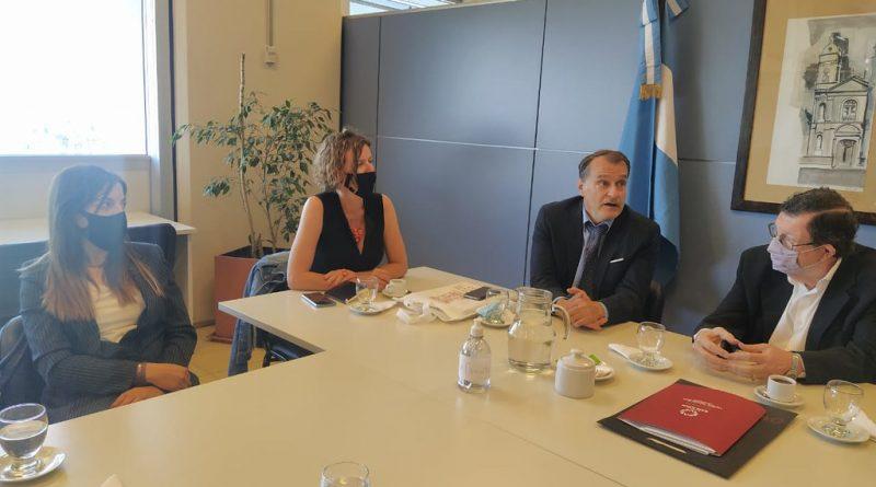 La Embajada de Francia en la Argentina acordó continuar actividades con el SECITI de San Juan